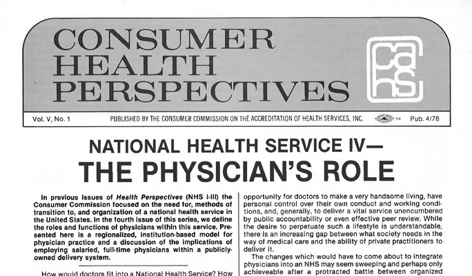 Consumer Health Perspectives 1st Ed