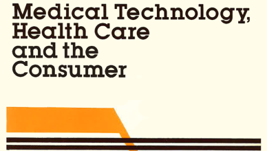 Book: Medical Technology, Health Care and the Consumer