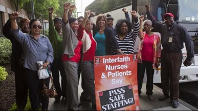 Pass Safe Staffing Rally