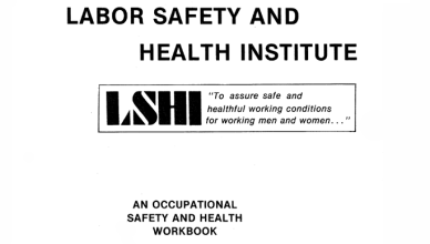LSHI Occupational Safety and Health Workbook